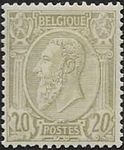 Check out our Belgium 1884 - Koning Leopold II, left profile - OBP 47