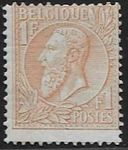 Check out our Belgium 1884 - Koning Leopold II, left profile - OBP 51