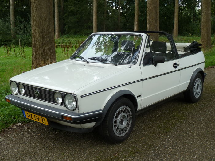 volkswagen golf convertible 1 6 gl 1984 catawiki. Black Bedroom Furniture Sets. Home Design Ideas