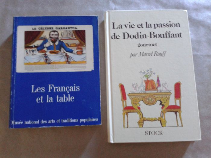 Gastronomy set of 2 volumes 1 life and dodin bouffant - Table et passion ...