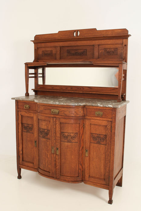 art nouveau serve buffet catawiki. Black Bedroom Furniture Sets. Home Design Ideas