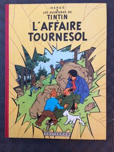 Tintin T18 - L'Affaire Tournesol - C - Ré (1960)