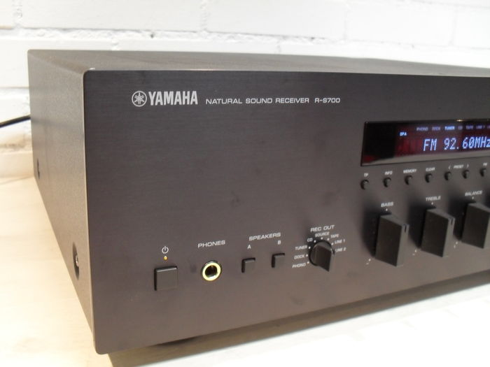 yamaha natural sound receiver r s700 catawiki. Black Bedroom Furniture Sets. Home Design Ideas