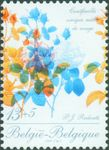 Check out our Belgium 1989 - Roses of Redouté with shifted printing - OBP 2318