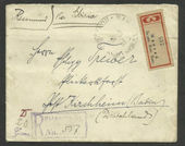 Check out our Russian post in China 1903 - Registered letter from German post-office in Shanghai via Siberia to Kirchheim Germany