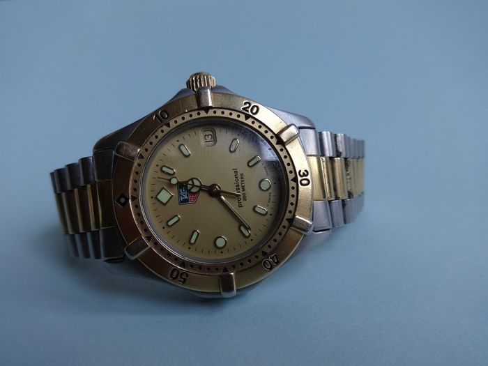 Tag heuer professional 200m divers watch catawiki for Tag heuer divers watch