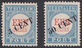 Check out our Netherlands 1906 - Postage Stamps overprint - NVPH P27 / P28, with approval certificate