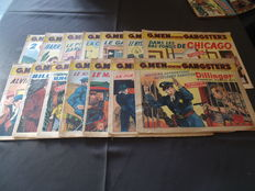 G. Men contre gangsters - 14 nummers - sc - (1947)