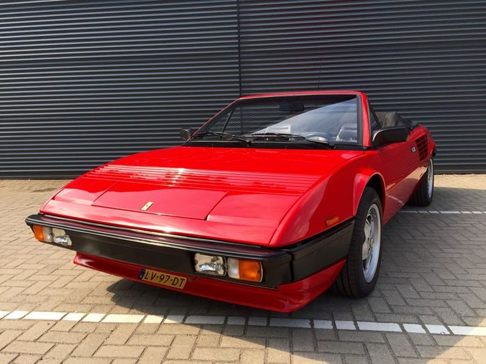ferrari mondial convertible 1985 catawiki. Black Bedroom Furniture Sets. Home Design Ideas