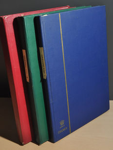 Greece - Batch in stock books including Hermes heads