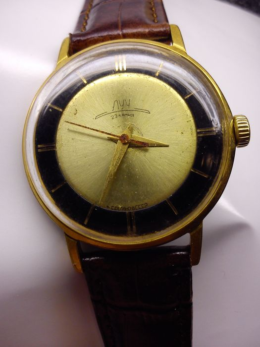POLJOT - LUCH USSR Russian mens watch from the 70s
