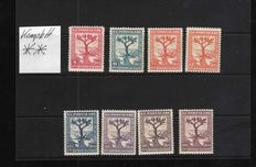 Turkey 1931/1970 – Collection with complete sets and a stock book with European countries
