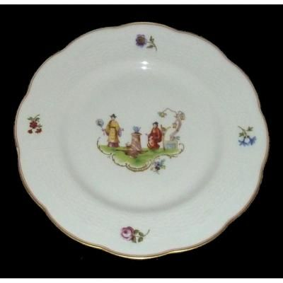 Porcelaine de limoges production de th odore havilland assiette plate ca - Porcelaine de haviland ...