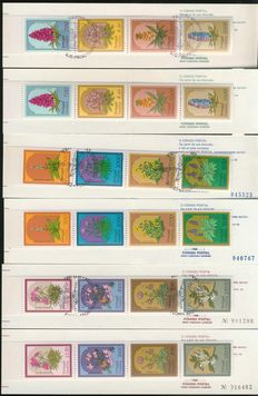 World 1970/2011 - Extensive collection of approx. 570 miniature sheets and sheetlets and circa 185 stamp booklets and some miscellaneous in box