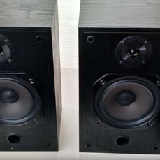 2 B&W V 201i speakers