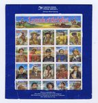 Check out our USA 1994 - Legends of the west - Yvert 2310A, sheet with the error portrait of Bill Pickett