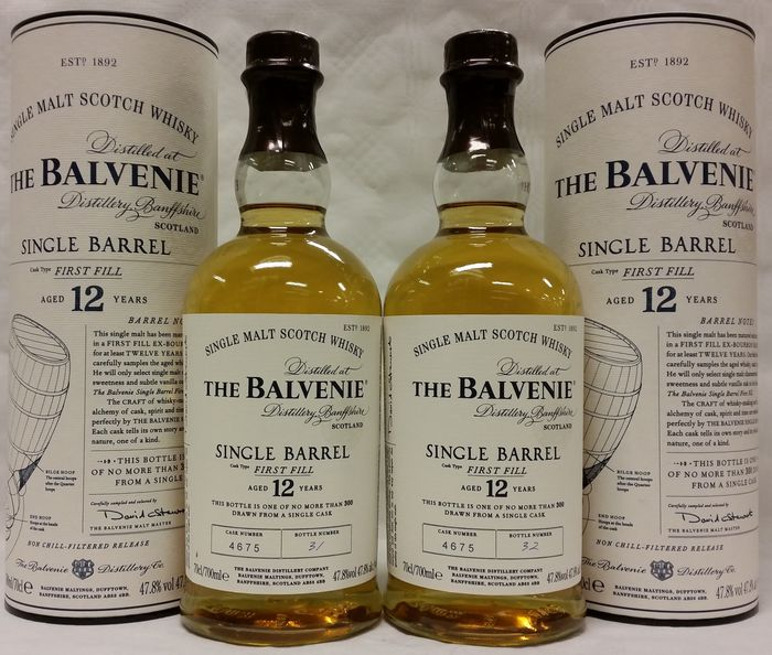 Balvenie 25 y single barrel