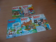 Asterix - Push-out books 2 t/m 6 - sc - (1976/1978)