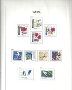 Europa stamps 1949/2003 - Collection in Davo Luxury album with box
