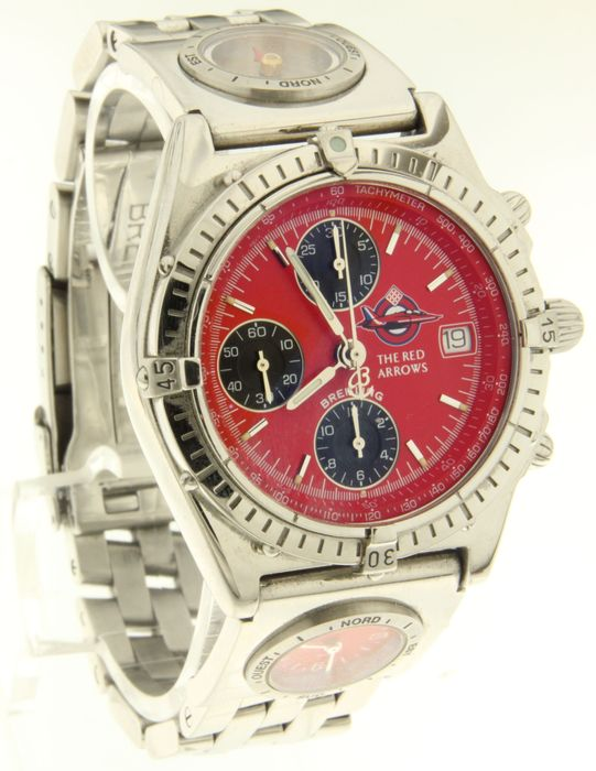 breitling red arrow mit kompass limitierte edition. Black Bedroom Furniture Sets. Home Design Ideas