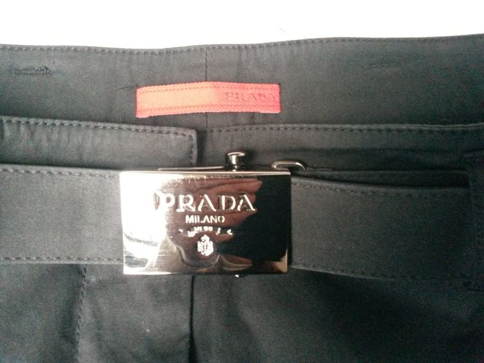 prada leather ceinture