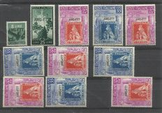 Trieste Zone A 1947/1954  - Selection wit stamps, covers, FDC`s and postal items