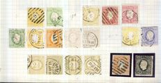 Portugal 1870/1940 - Collection on homemade pages