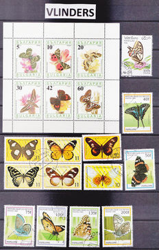 Topical stamps  - Collection in 2 stock books with various topical collections