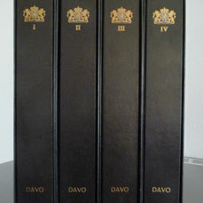 Accessoires - 4 Davo Luxe albums Nederland I t/m IV