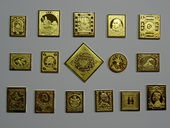 Check out our World - First issues - Collection of 16 miniatures of gold-plated sterling silver