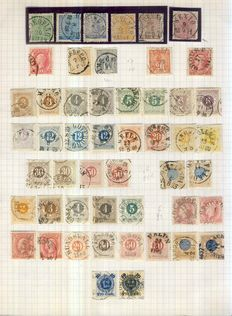 Sweden 1858/1940 - Collection on 11 leaves