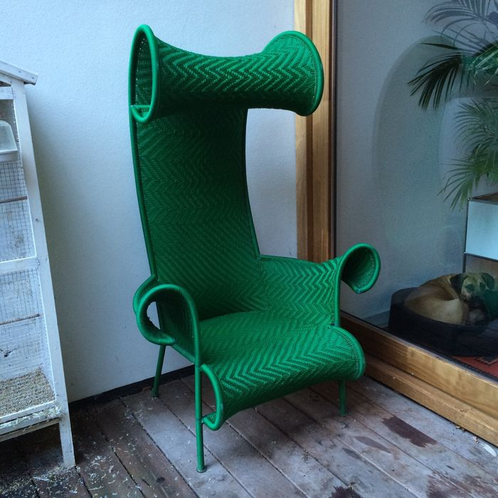 Tord Boontje by Moroso - deck chair shadowy green - Catawiki