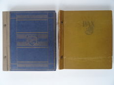 World - Batch in old KaBe album and old stock book