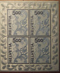 Check out our Switzerland 2000 - So-called 'Stickereibogen' - Sheetlet Michel 1726