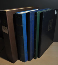 Czechoslovakia - Batch in several stock books and a collection remainder in a Schaubek album