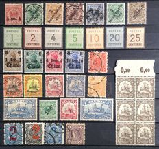 World - Batch on stock cards including Germany and British Commonwealth