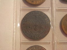 World - 382x coins 19th and 20th century in album