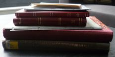 Czechoslovakia and GDR - Batch in 4 stock books and on pages