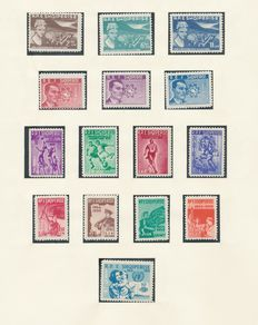 Albania 1959/1969 - Collection on Lindner album pages