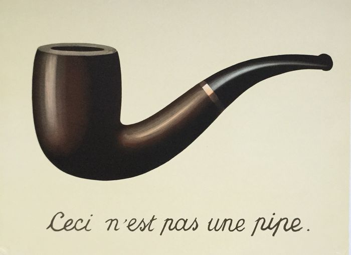 ren magritte after ceci n est pas une pipe. Black Bedroom Furniture Sets. Home Design Ideas