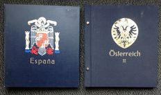 Austria and Spain 1977/1994 - Collection in 2 Davo albums