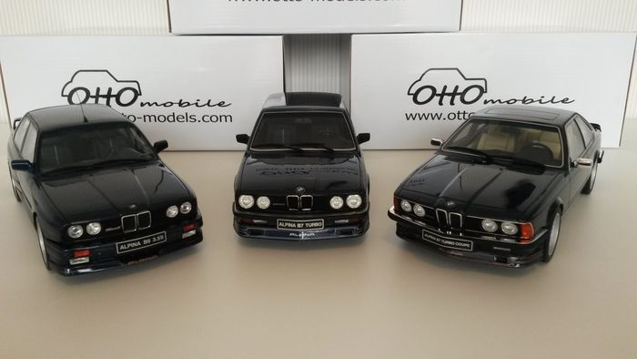 Otto mobile scale lot of bmw alpina models