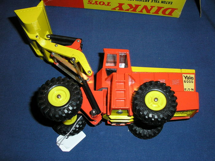 Articulated Tractor Toys And Joys : Dinky toys scale eaton yale articulated tractor