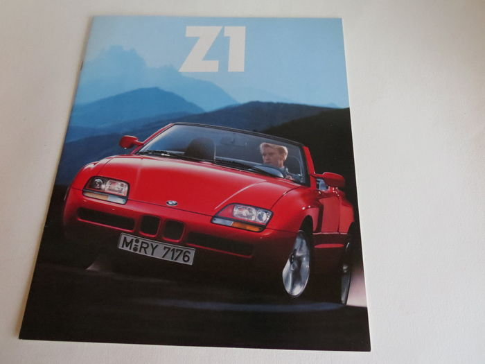 bmw z1 brochure catawiki. Black Bedroom Furniture Sets. Home Design Ideas