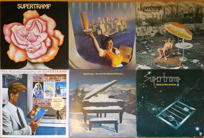 Supertramp 1 Breakfast In America 2 Supertramp 3 The