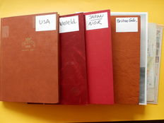 World - Batch in 4 stock books and on loose pages, from classic to modern