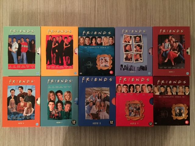Friends - DVD special edition box - collector's item - 10 seasons - 30 dvds - Catawiki