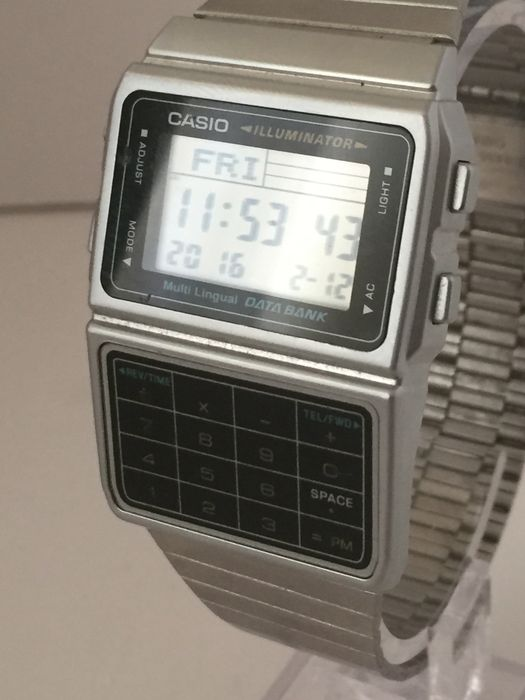 casio illuminator montre homme vintage des ann es 1980 catawiki. Black Bedroom Furniture Sets. Home Design Ideas