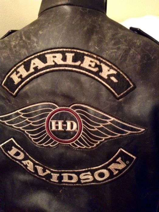 motorradjacke harley davidson catawiki. Black Bedroom Furniture Sets. Home Design Ideas