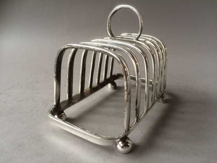 1960s Toaster With Bread ~ Bread basket and toast rack england approx catawiki
